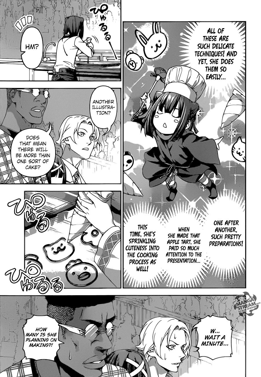 Shokugeki no Soma Chapter 245  Online Free Manga Read Image 8
