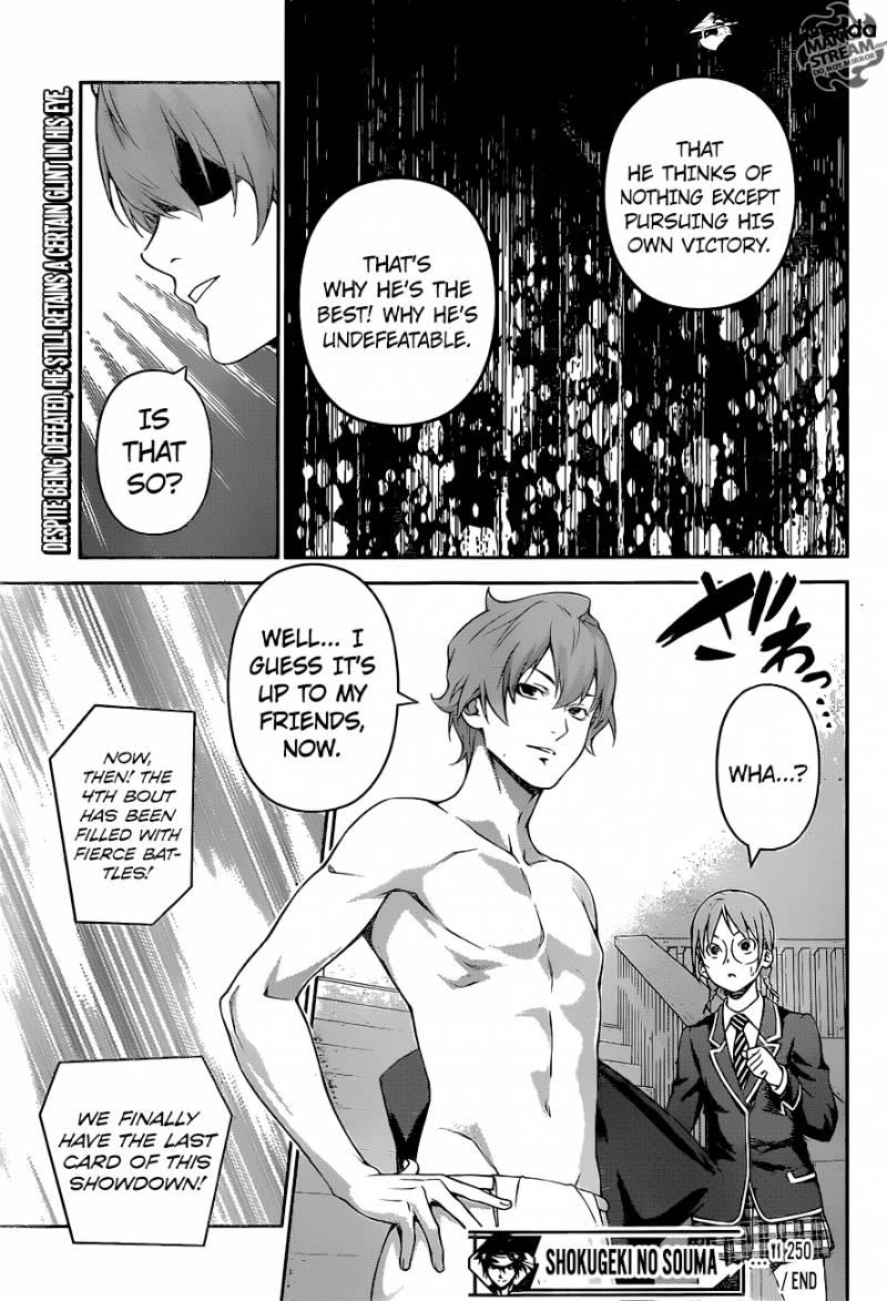 Shokugeki no Soma Chapter 250  Online Free Manga Read Image 19