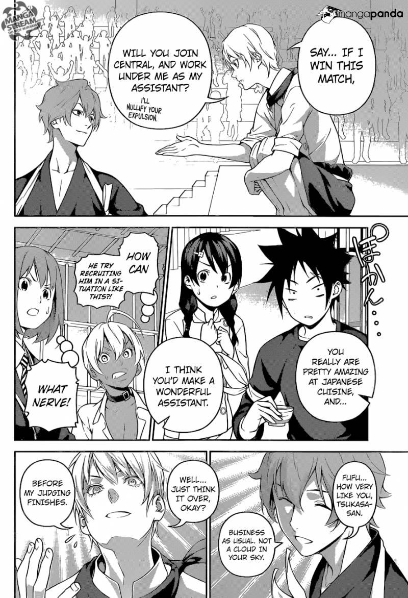 Shokugeki no Soma Chapter 250  Online Free Manga Read Image 3