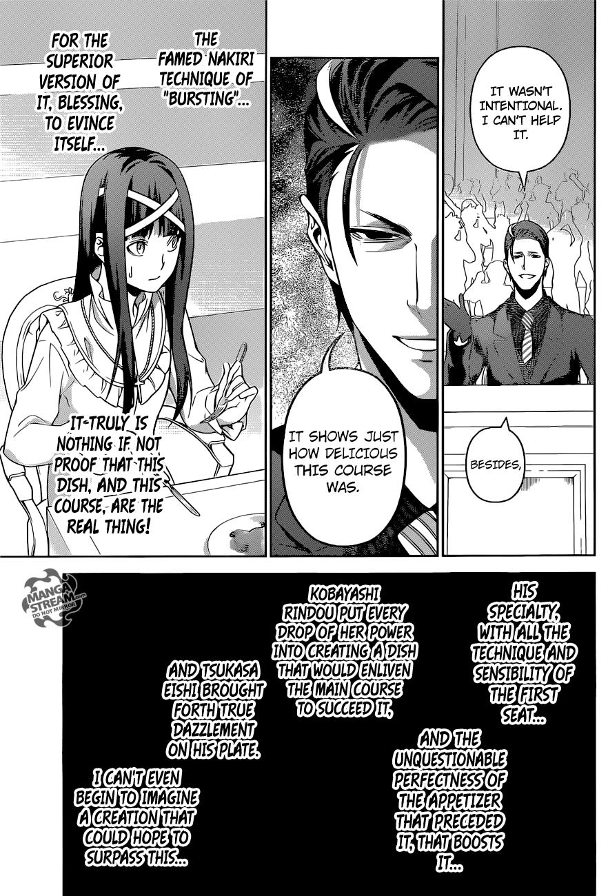 Shokugeki no Soma Chapter 256  Online Free Manga Read Image 14