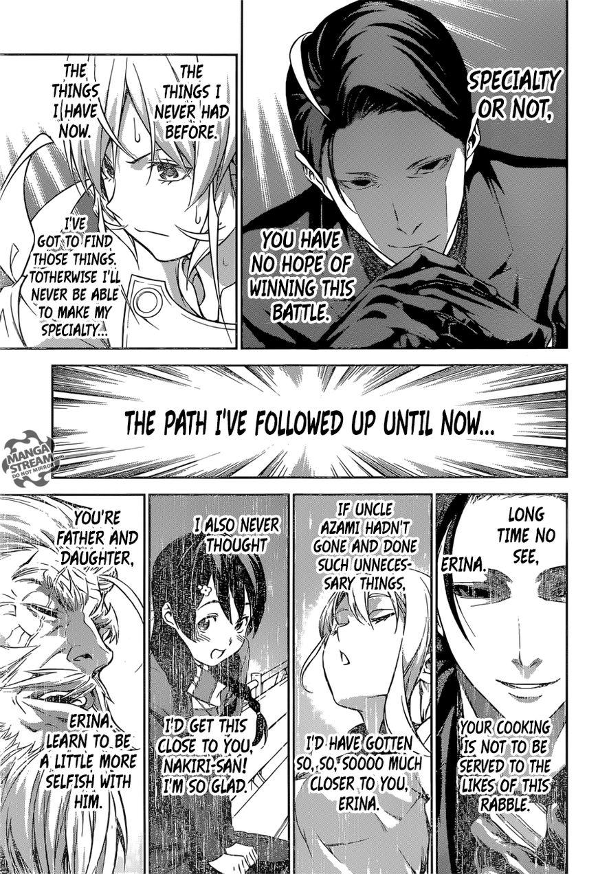 Shokugeki no Soma Chapter 259  Online Free Manga Read Image 16