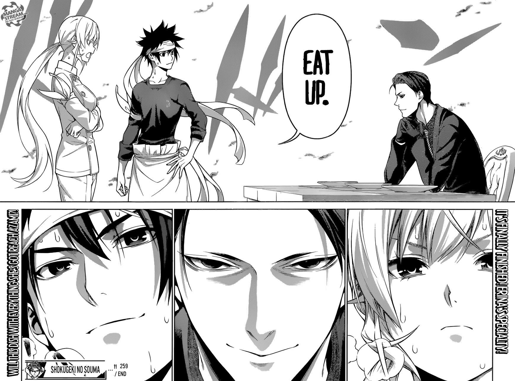Shokugeki no Soma Chapter 259  Online Free Manga Read Image 19