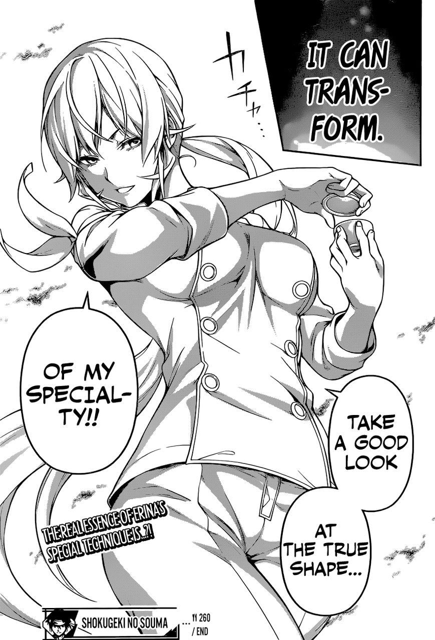 Shokugeki no Soma Chapter 260  Online Free Manga Read Image 19