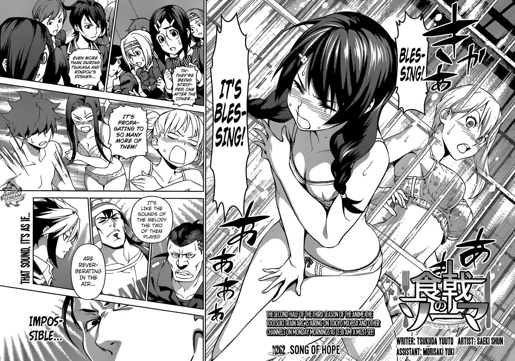 Shokugeki no Soma Chapter 262  Online Free Manga Read Image 5