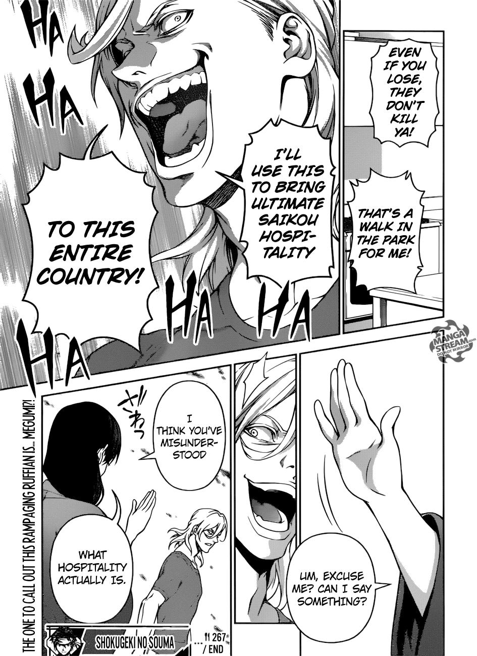 Shokugeki no Soma Chapter 267  Online Free Manga Read Image 20