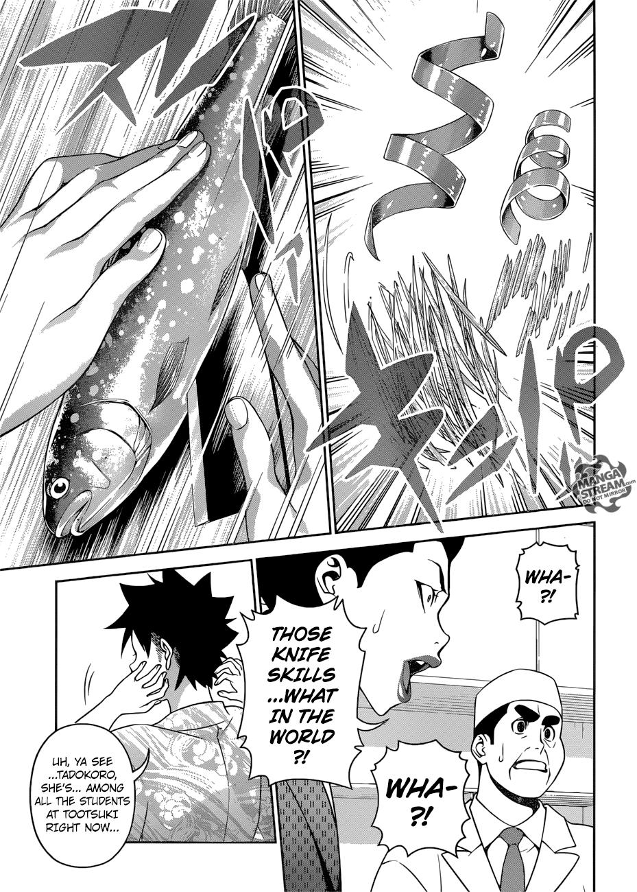 Shokugeki no Soma Chapter 268  Online Free Manga Read Image 16