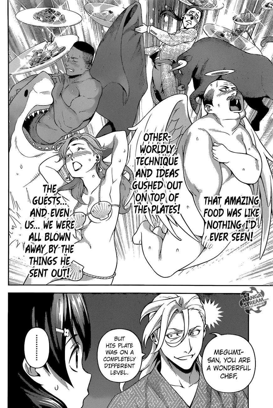 Shokugeki no Soma Chapter 270  Online Free Manga Read Image 15