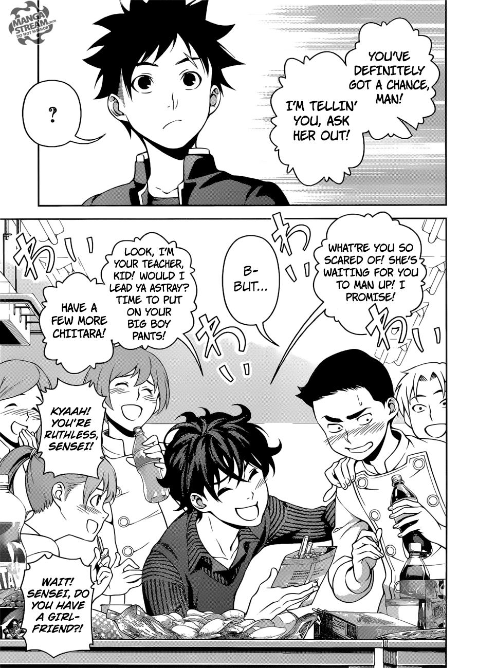 Shokugeki no Soma Chapter 272  Online Free Manga Read Image 12