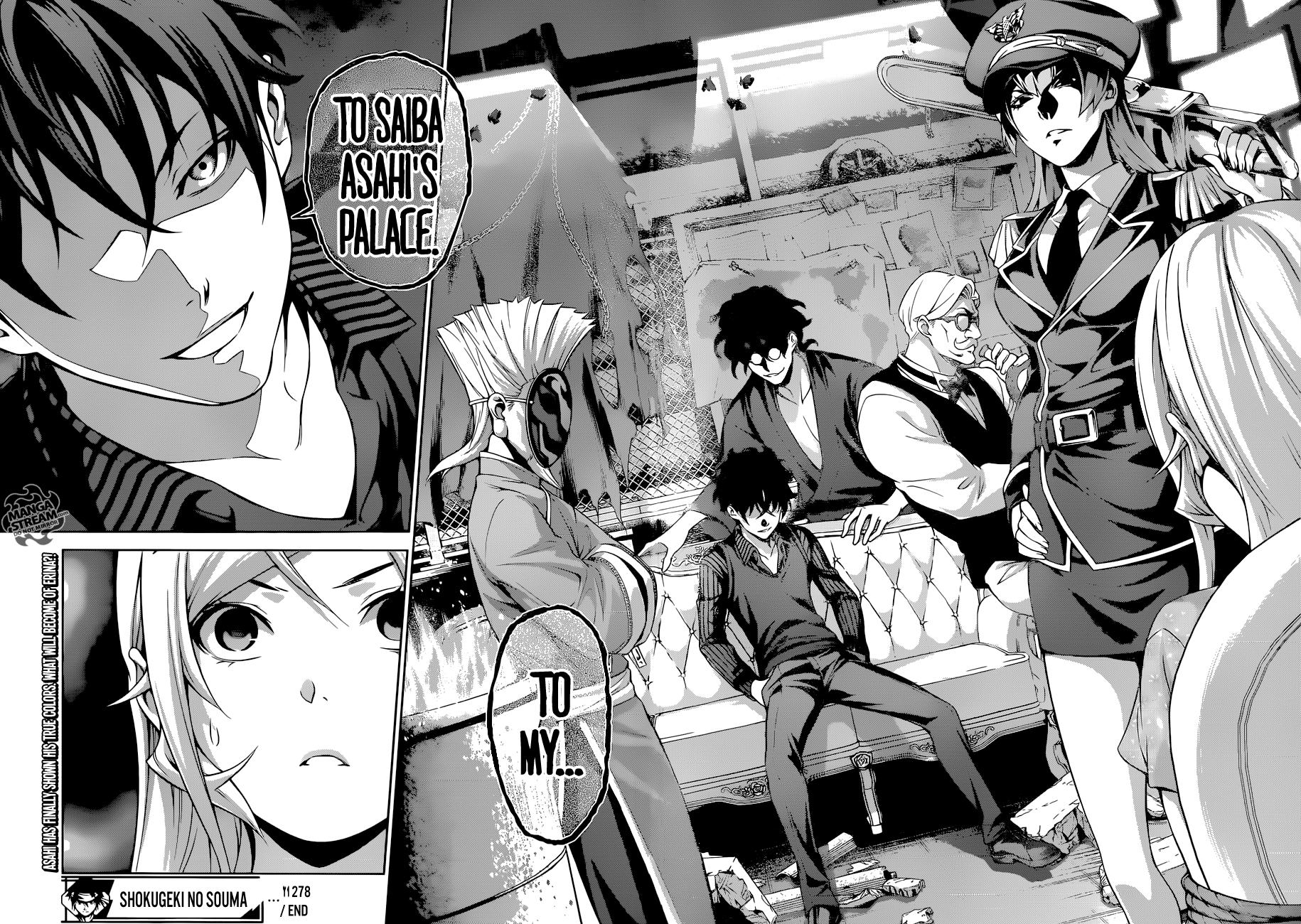 Shokugeki no Soma Chapter 278  Online Free Manga Read Image 19