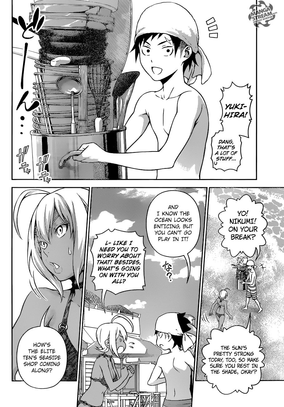 Shokugeki no Soma Chapter 279  Online Free Manga Read Image 3
