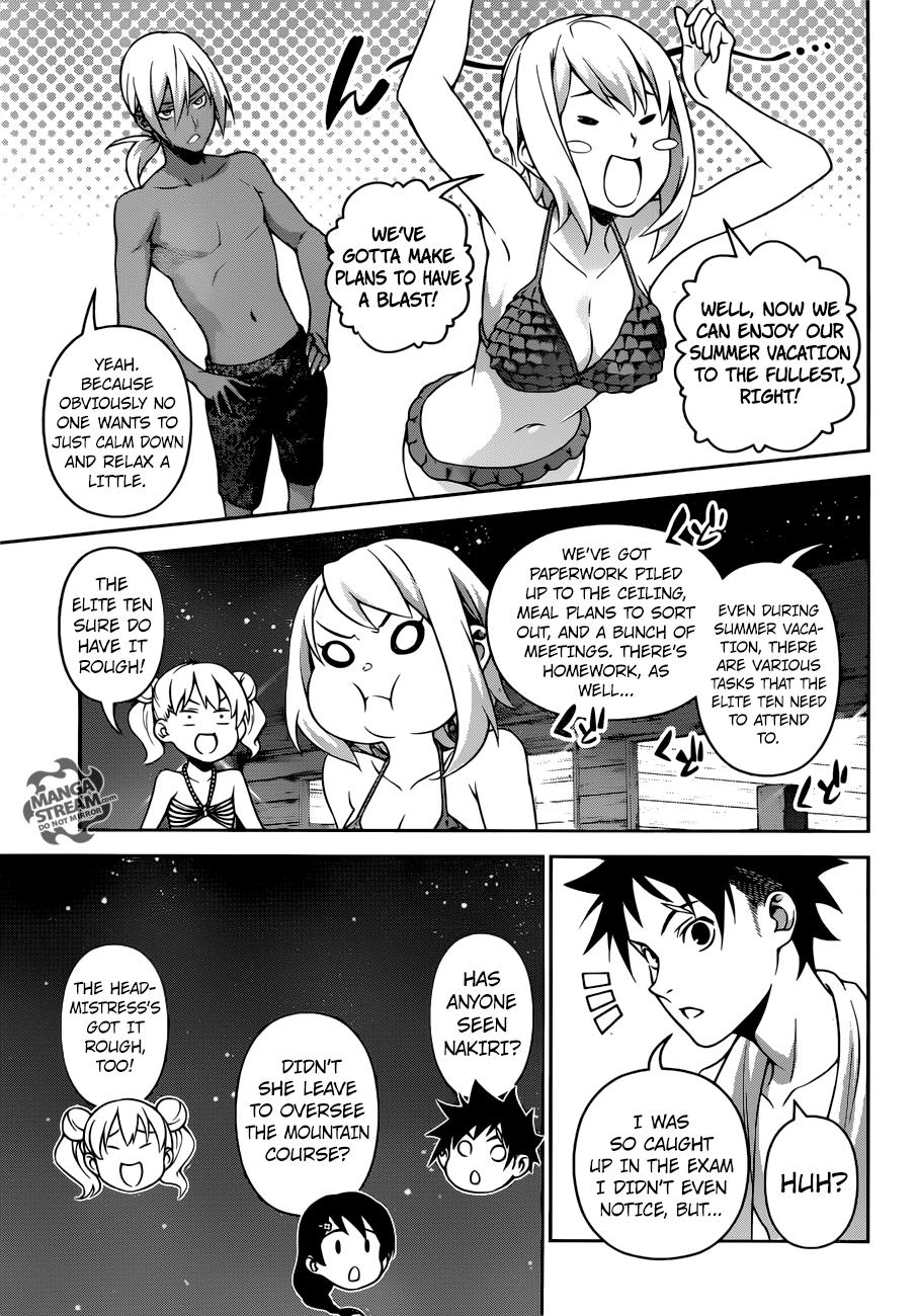Shokugeki no Soma Chapter 281  Online Free Manga Read Image 4
