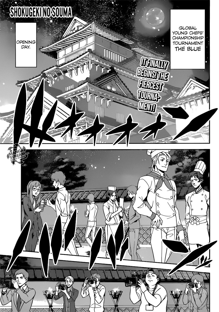 Shokugeki no Soma Chapter 283  Online Free Manga Read Image 1