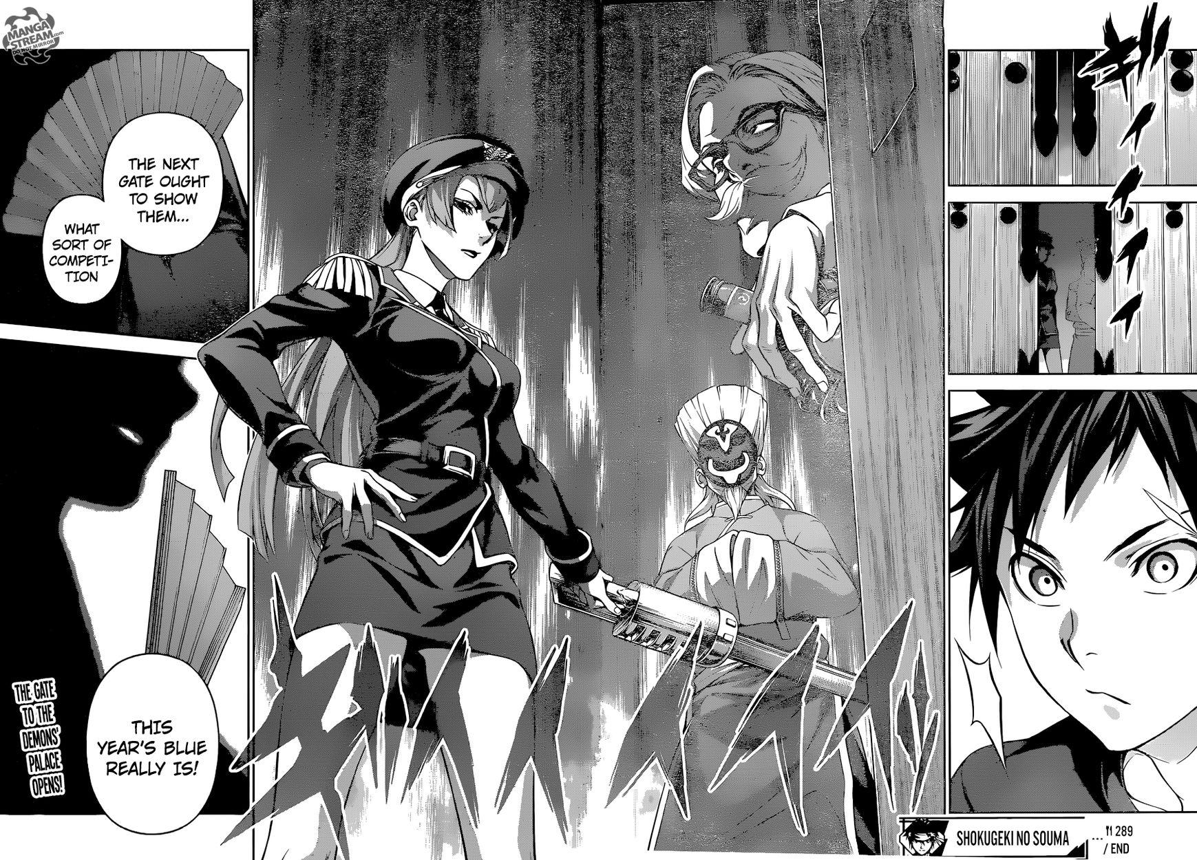 Shokugeki no Soma Chapter 289  Online Free Manga Read Image 19