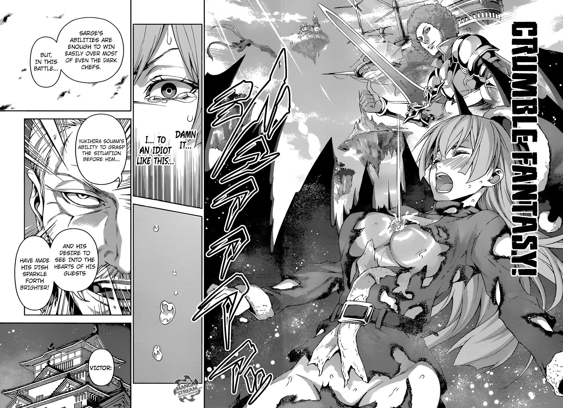Shokugeki no Soma Chapter 295  Online Free Manga Read Image 15
