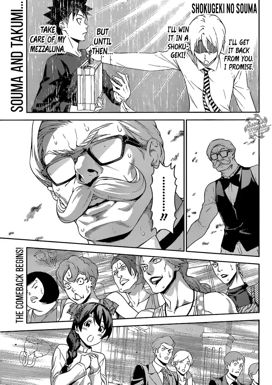 Shokugeki no Soma Chapter 299  Online Free Manga Read Image 1