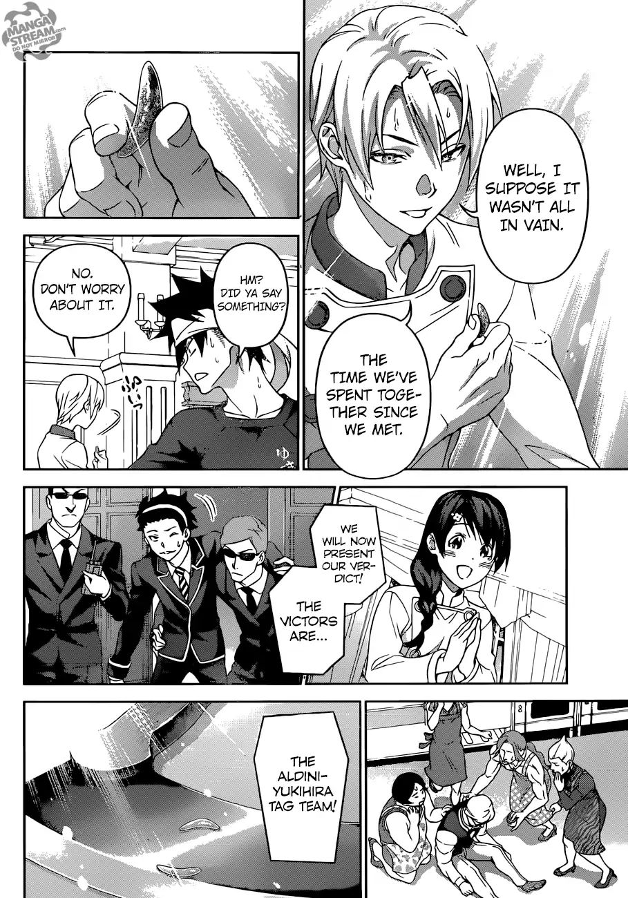 Shokugeki no Soma Chapter 299  Online Free Manga Read Image 17