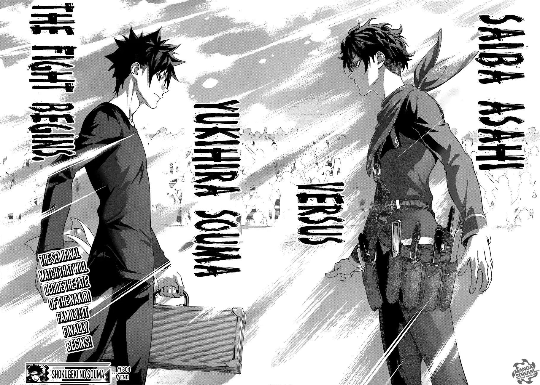 Shokugeki no Soma Chapter 304  Online Free Manga Read Image 19