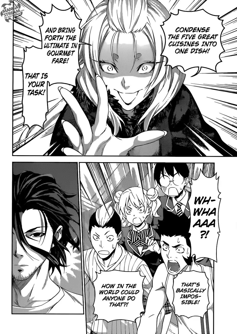 Shokugeki no Soma Chapter 305  Online Free Manga Read Image 16