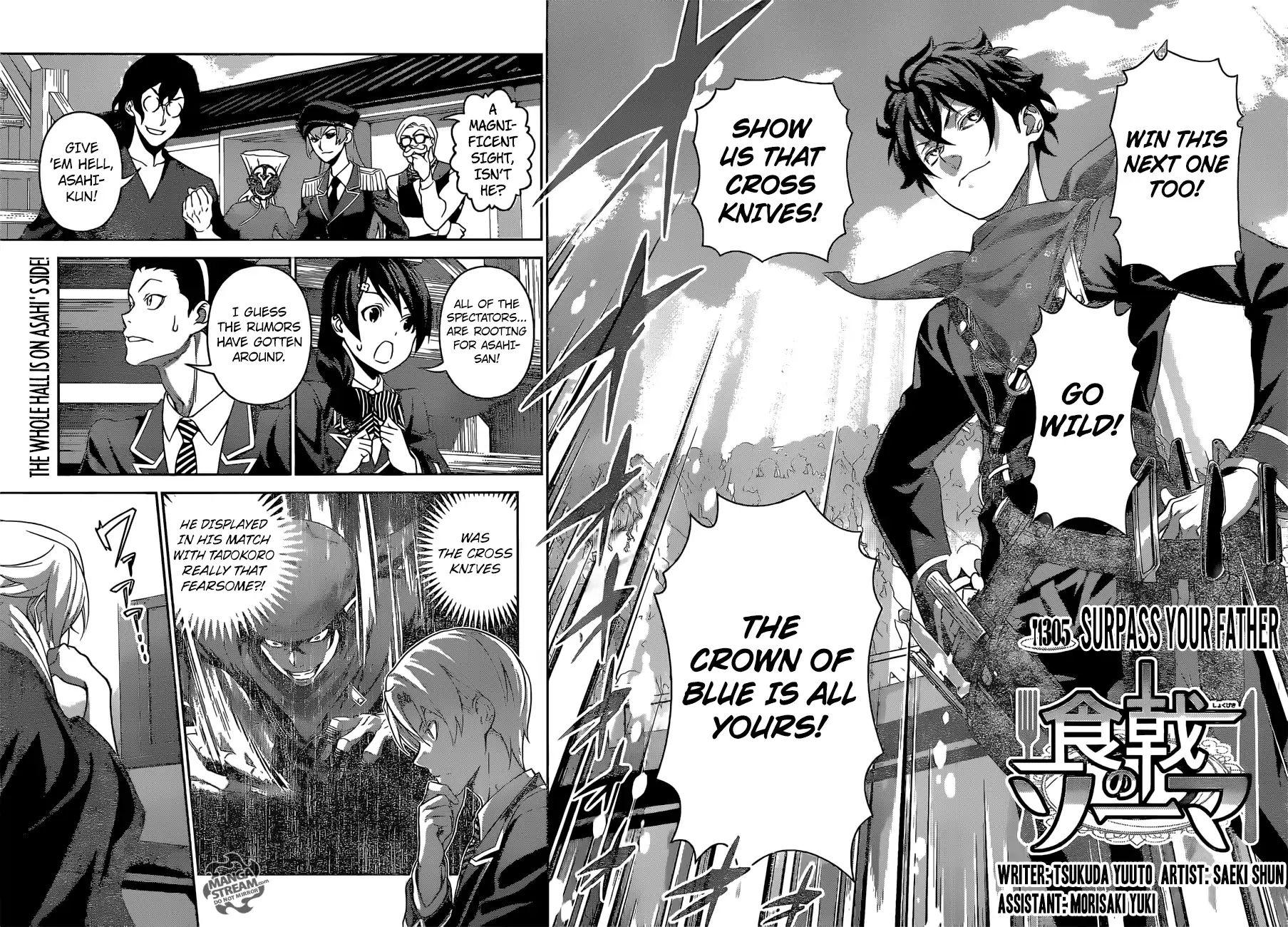 Shokugeki no Soma Chapter 305  Online Free Manga Read Image 3