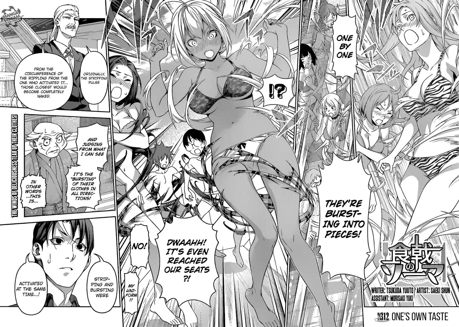 Shokugeki no Soma Chapter 312  Online Free Manga Read Image 5