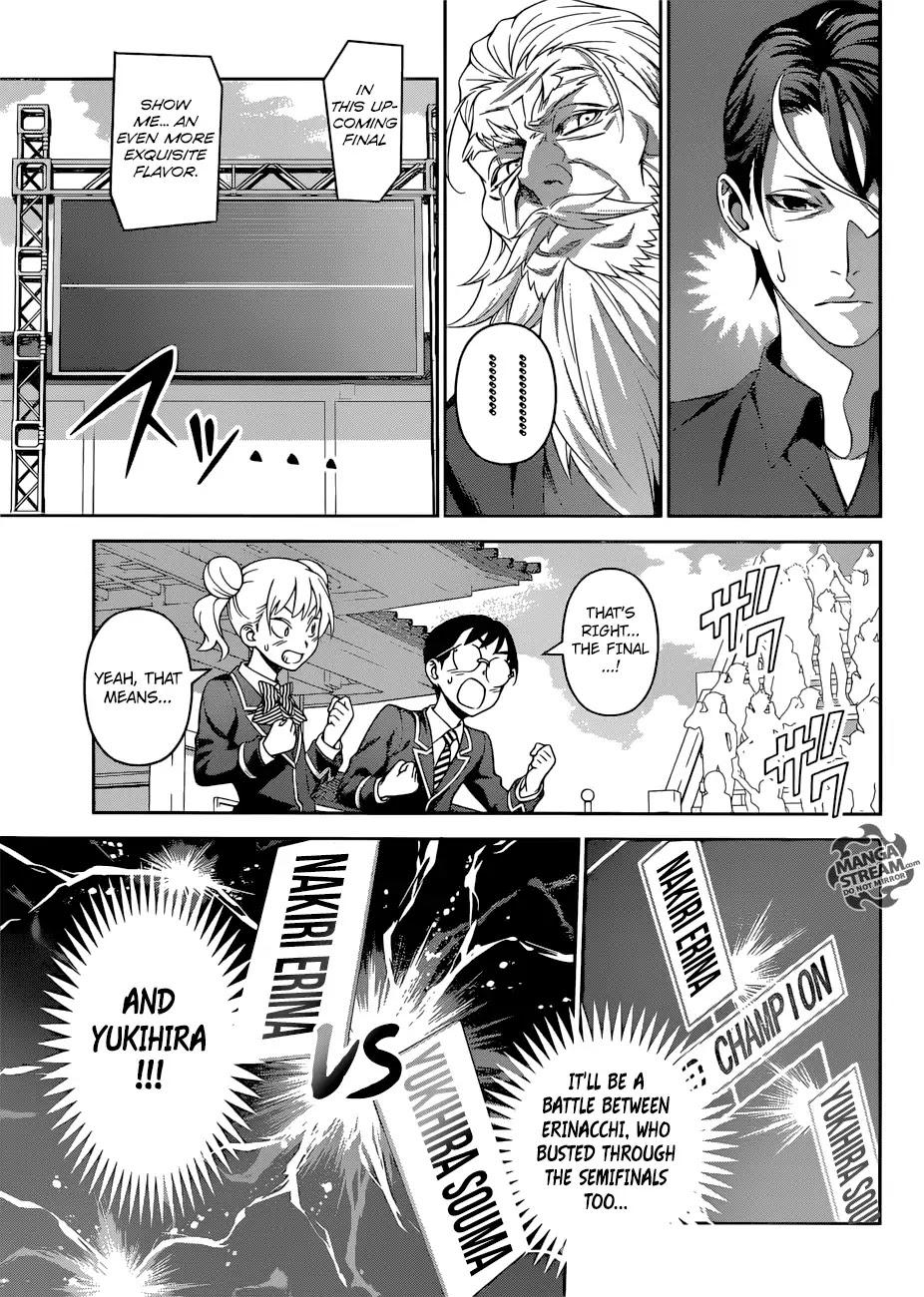 Shokugeki no Soma Chapter 313  Online Free Manga Read Image 4