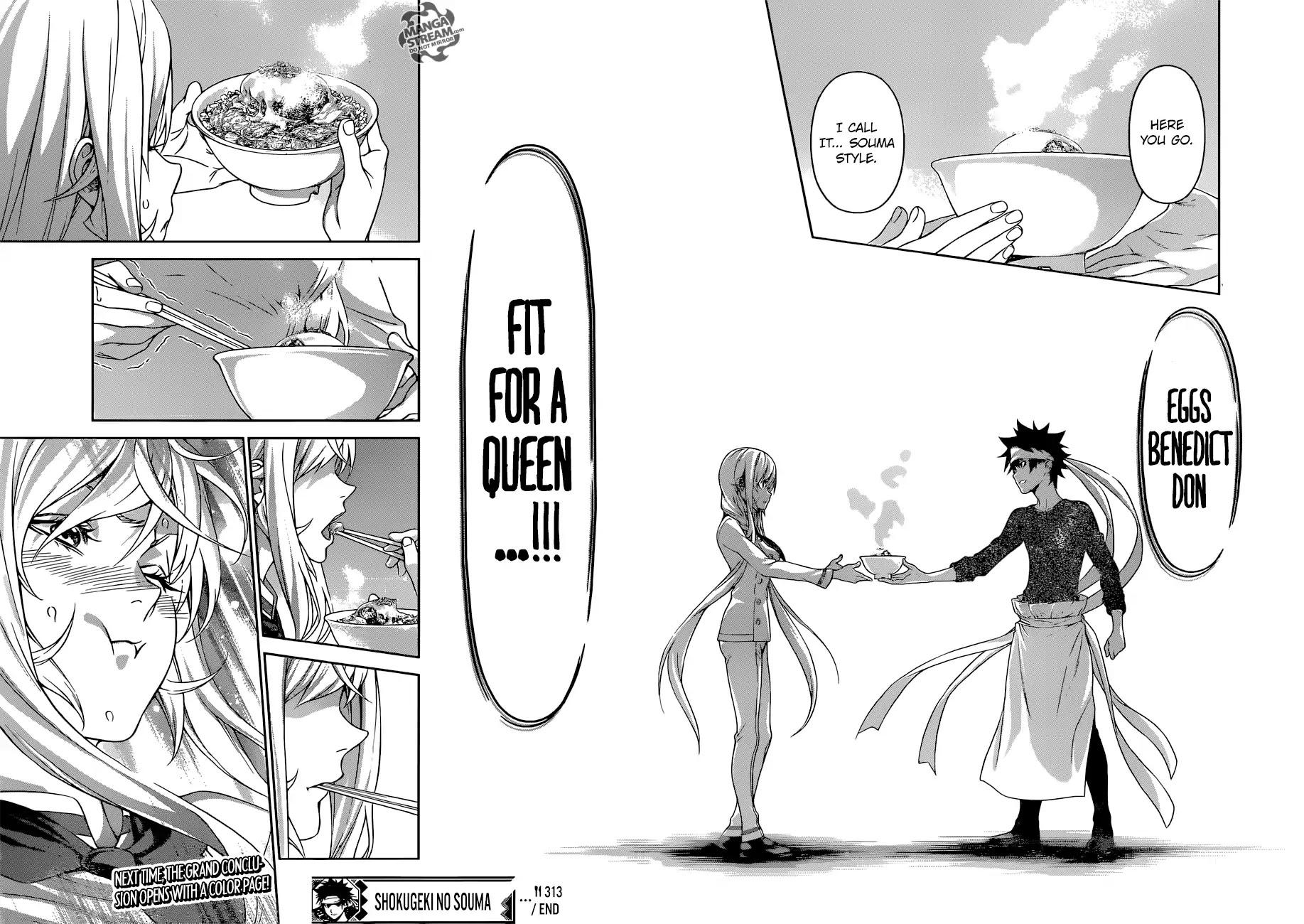 Shokugeki no Soma Chapter 314  Online Free Manga Read Image 19