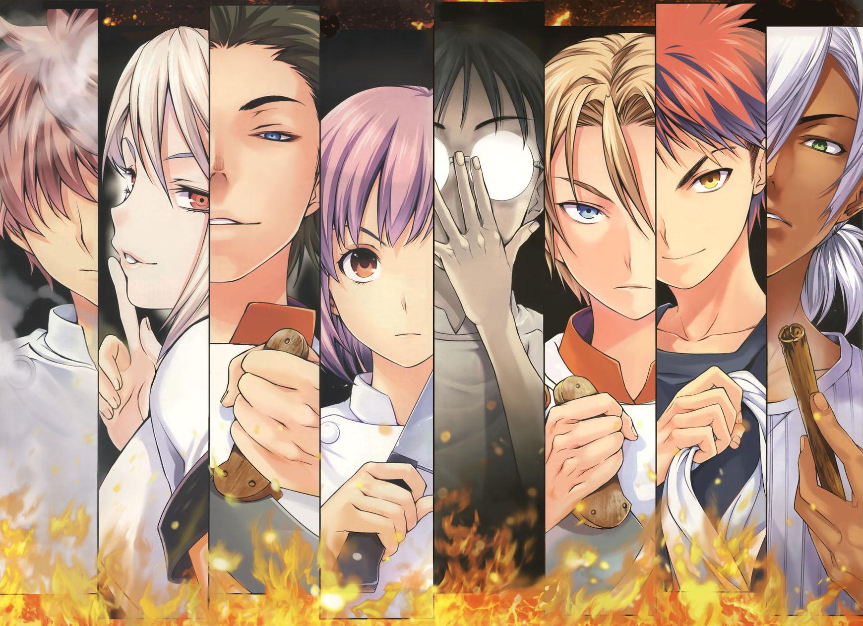 Shokugeki no Soma Chapter 48  Online Free Manga Read Image 5