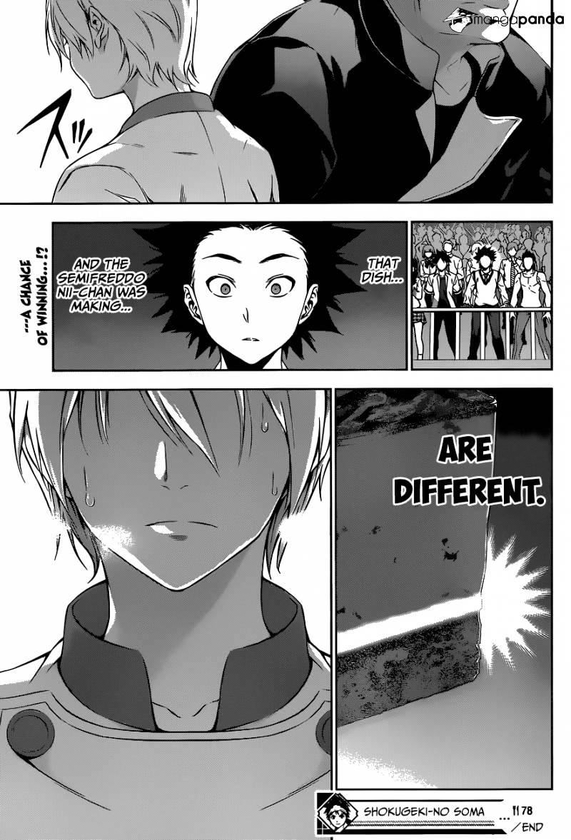 Shokugeki no Soma Chapter 78  Online Free Manga Read Image 19