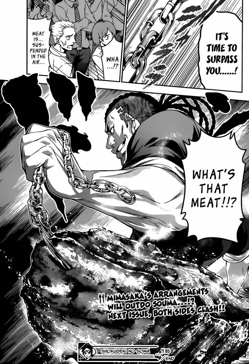 Shokugeki no Soma Chapter 85  Online Free Manga Read Image 19