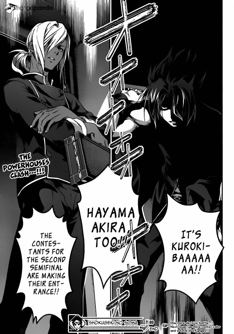 Shokugeki no Soma Chapter 89  Online Free Manga Read Image 19