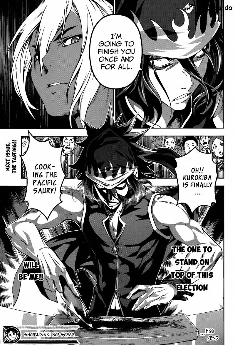 Shokugeki no Soma Chapter 98  Online Free Manga Read Image 20
