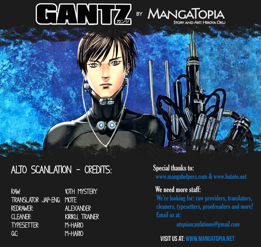 Gantz Chapter 382 Full Manga Read Scan Image 1