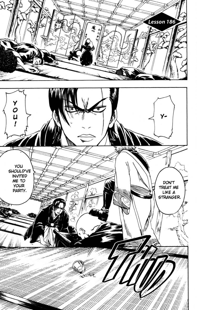 Gintama Chapter 186  Online Free Manga Read Image 1