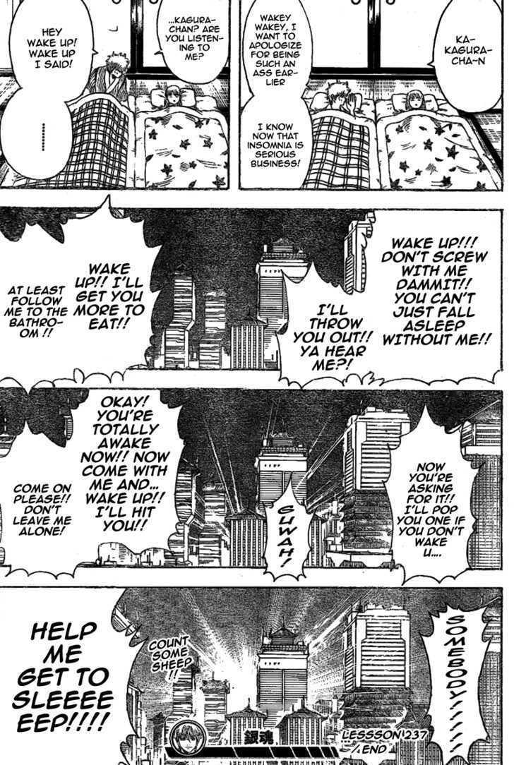 Gintama Chapter 237  Online Free Manga Read Image 19