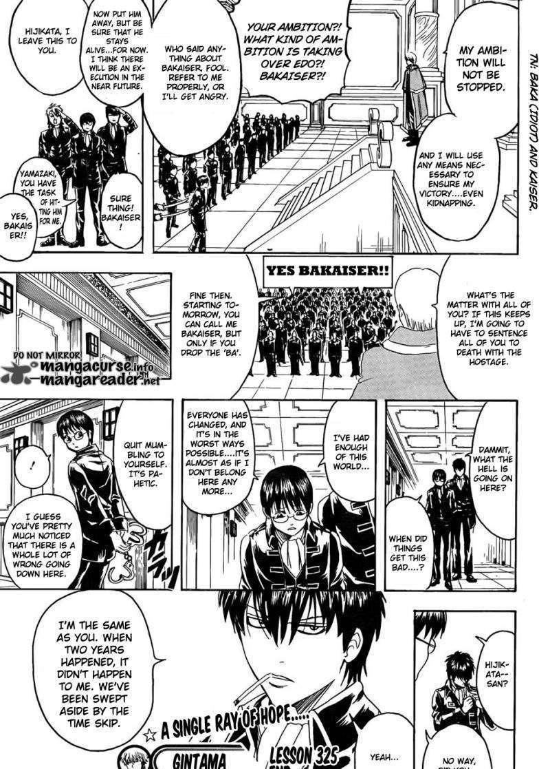 Gintama Chapter 325  Online Free Manga Read Image 20