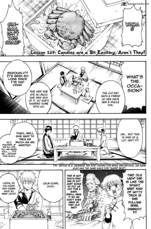 Gintama Chapter 327  Online Free Manga Read Image 1