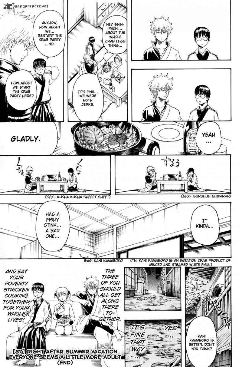 Gintama Chapter 328  Online Free Manga Read Image 19