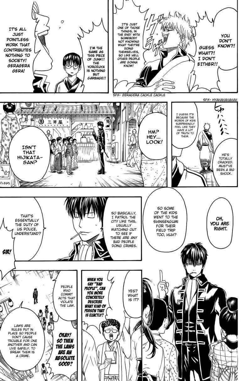 Gintama Chapter 331  Online Free Manga Read Image 14