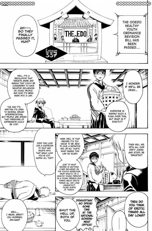 Gintama Chapter 337  Online Free Manga Read Image 1