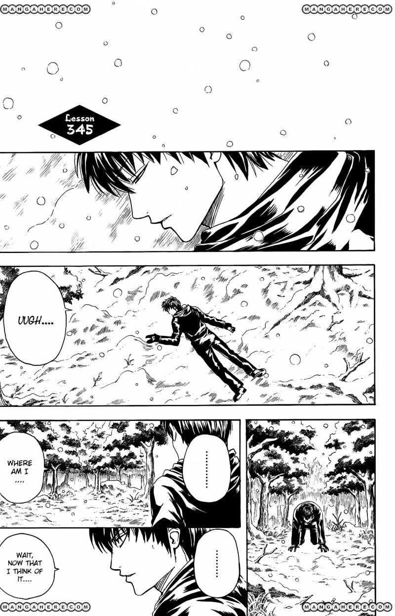 Gintama Chapter 345  Online Free Manga Read Image 1