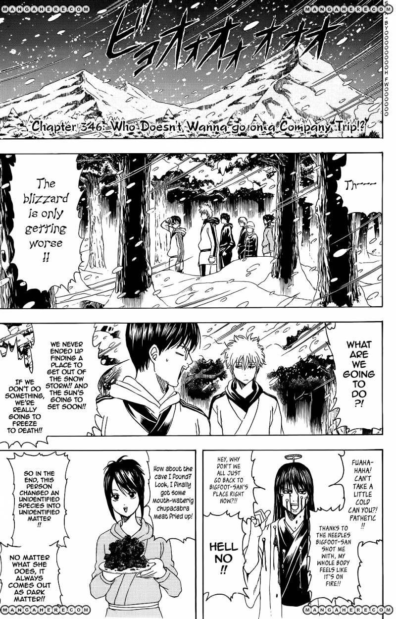 Gintama Chapter 346  Online Free Manga Read Image 1