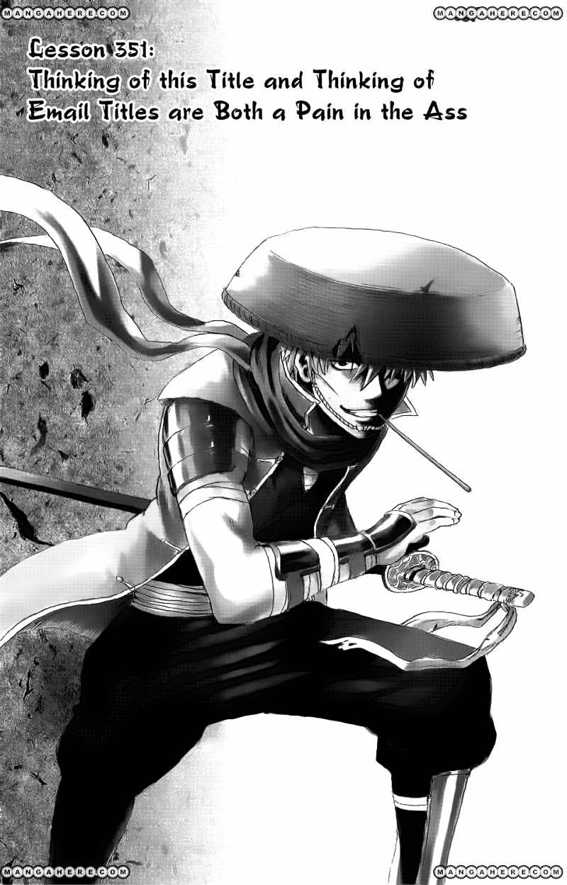 Gintama Chapter 351  Online Free Manga Read Image 1