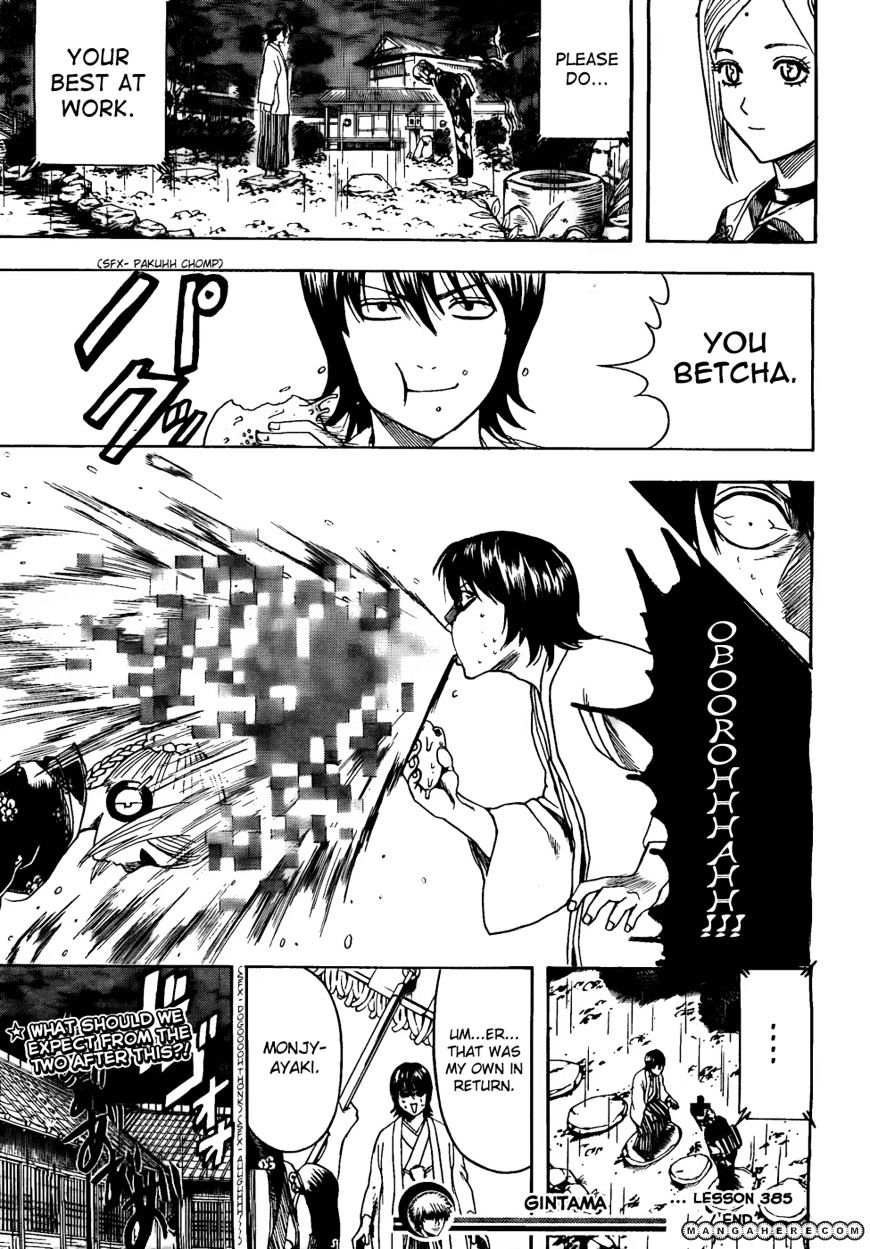 Gintama Chapter 385  Online Free Manga Read Image 19