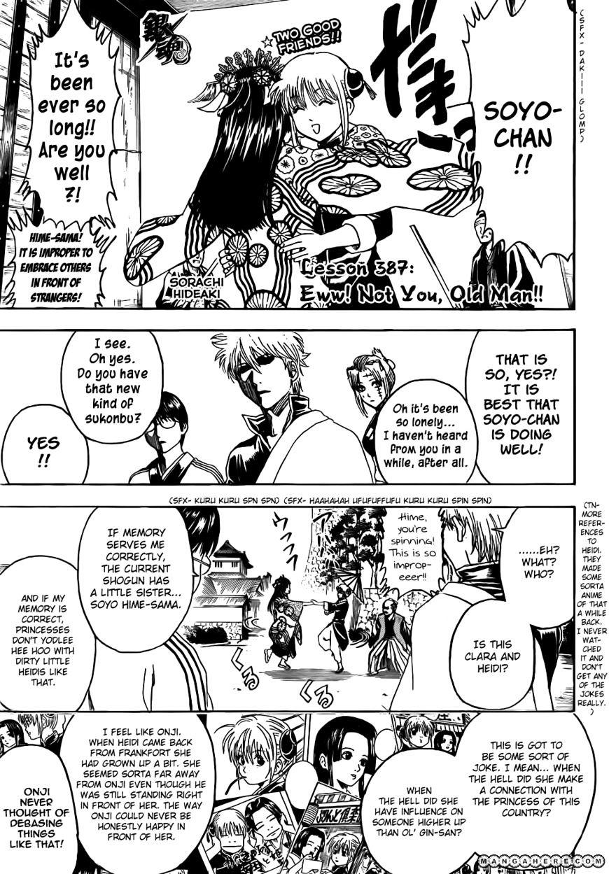 Gintama Chapter 387  Online Free Manga Read Image 7