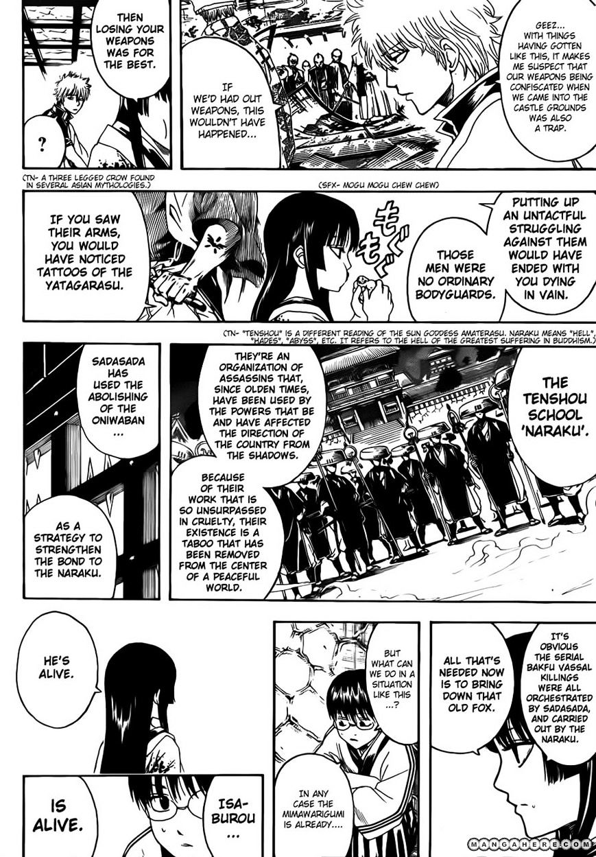 Gintama Chapter 389  Online Free Manga Read Image 6