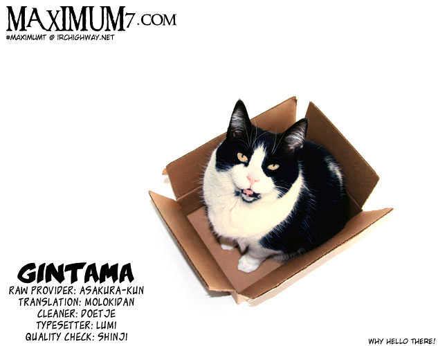 Gintama Chapter 40  Online Free Manga Read Image 1