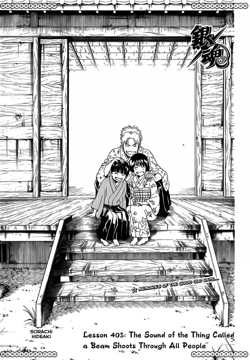 Gintama Chapter 403  Online Free Manga Read Image 3