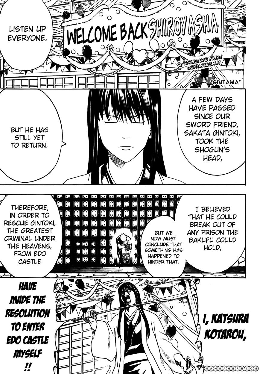 Gintama Chapter 415  Online Free Manga Read Image 1