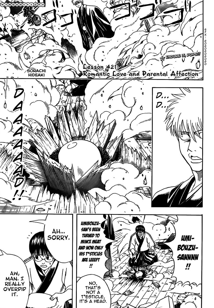 Gintama Chapter 421  Online Free Manga Read Image 1