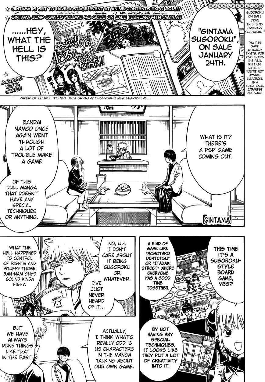 Gintama Chapter 430  Online Free Manga Read Image 1